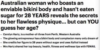這個70歲美艷奶奶說出自己的保養秘密,卻被外國網友噴慘了:騙鬼呢這是
