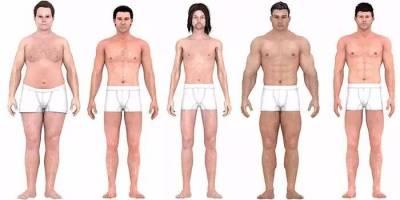 男人的標準身材,一百年變了這麼多!