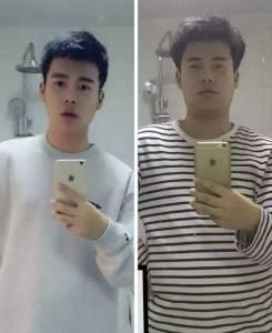長胖20斤後,臉型會有什麼不同?質的變形……