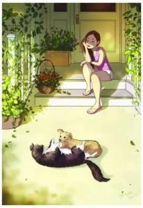 她畫出了單身汪的日常生活,看完心安理得單身了...誰也別阻止我!