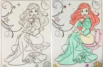 不要亂畫小孩子的繪本!!8張「大人上色後變得兒童不宜」的兒童畫本,全部看懂的人不單純...