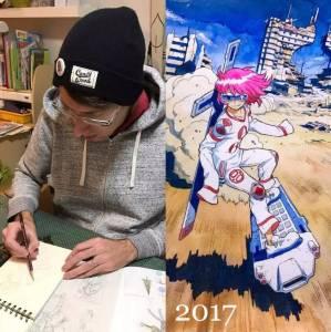 超強改圖老爸,將兒子塗鴉瘋狂改造,看完覺得這位老爸可將改完的圖出成一本全新漫畫