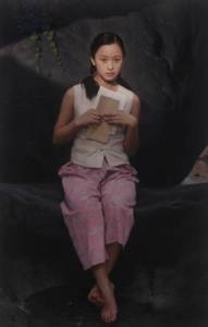 瞞着老婆偷畫女鄰居人體15年,他竟被三屆美國總統授予榮譽勳章,影響一代中國畫家