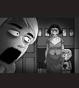 火辣繼母半夜被老公「狠狠綑綁並拘禁」,原本以為要玩「新的花樣」,沒想到兒子這時竟然走進房門‥‥