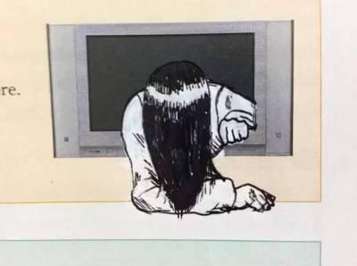 喜歡在課本上塗鴉這事,世界大同...這群歪果熊孩子,挺有前途啊...