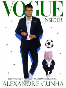 巴西超模 Alexandre Cunha 獨家專訪-上