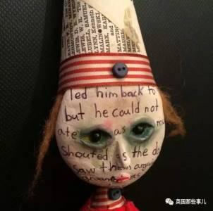 12歲,他用兩年時間,做出這一整系列暗黑娃娃,有點厲害啊...