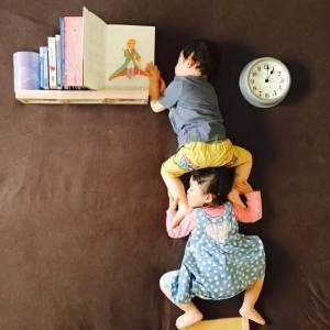 日本一媽媽趁女兒和兒子睡著之後,偷偷做出這種事,會玩…