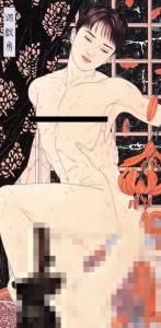 這8張「超暗黑官能」浮世繪作品,肉體極盡情慾激情交纏,尺度完全是兒童不宜 5驚見格雷專用的「遊戲房」?!