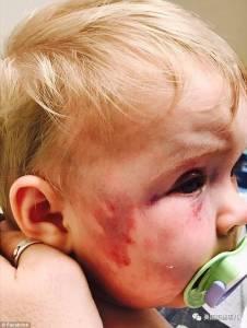 她虐待自己8個月大的親生女兒報復前任,然而法官對她的判決...嗶了狗啊