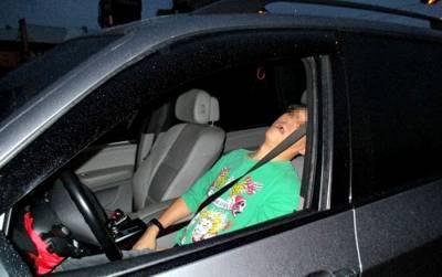 雖然我「喝醉」但是我沒「酒駕」上路,難道在「車上」睡一下也不行嗎?