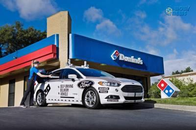 Ford與達美樂攜手試驗自動駕駛車外送披薩服務