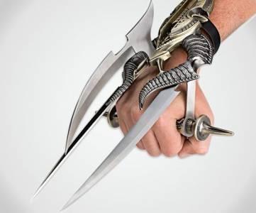 超殺武器盤點,這些在電影中都不曾見過的奇特武器! #2男子戴上這雙鐵手套後,竟化身成駭人土撥鼠