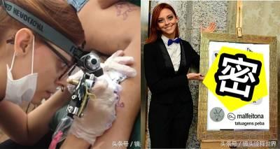 爆紅正妹刺青師,26歲的年紀「7歲的繪畫功力」,居然還有一堆人排隊給她刺青?網友看到都表示「他們是中了什麼巫術?」