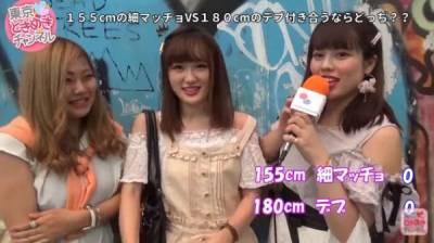 「男朋友選矮瘦子還是高胖子?」,日本妹子的回答,竟然驚人地一致!