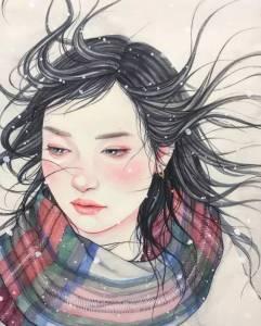 這個90後姑娘有點污,看完她的畫作,臉紅心跳··