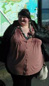 為了迎合男朋友她曾經拚命增肥,體重節節攀升。幸好醒悟不算太遲...