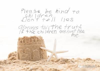 他們訪問了8000兒童性侵受害者。如今受訪倖存者們有些話想說給全世界聽...