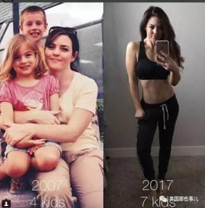 23年生了7個娃,跟女兒站在一起依然宛如姐妹…這逆齡媽媽超厲害