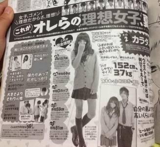 日本男人心目中理想女性的身材標準