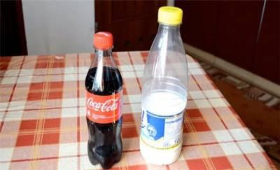 看了這個可樂加牛奶的實驗,嚇傻了!
