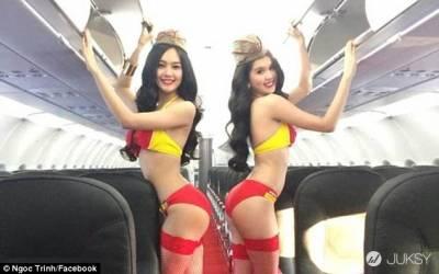 尺度大開!越南航空配色比基尼。。是不是等不及想搭乘?