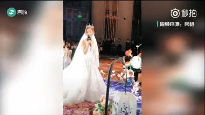 沒才藝不結婚系列,都是別人家的婚禮,給跪了!