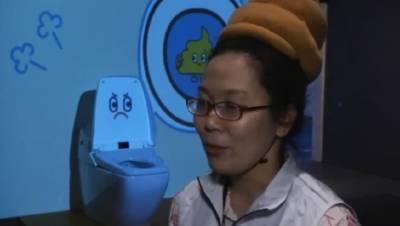 看英國人吐槽日本奇葩馬桶展… 你可以進去扮演一坨便便