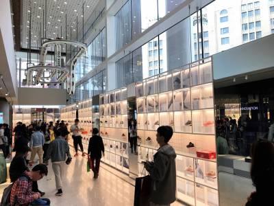 特別企劃|鞋頭一定要去朝聖!解密 NIKE 上海001 最高樓層!限量 客製球鞋都在這!
