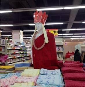超市大媽發威了,根本每一個都是藝術家阿!