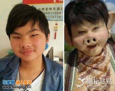 豬八戒轉世投胎,不用化妝就很像二師哥的男人