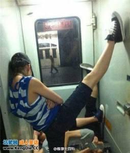心疼每一個在火車上睡覺的人,他們都是折冀的天使…