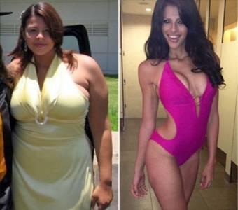 減肥成功的美女們~全都變成辣妹了