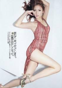 日本辣模 菜菜緒 九頭身美女 裝志村怪妝搞笑 圖+影