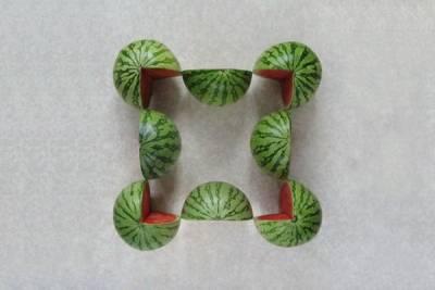 水果忍者真實版!不可思議的水果排列