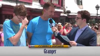 到哈利波特樂園裡去問爸爸媽媽們關於哈利波特的問題,答案亮爆了!!!