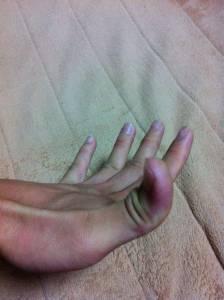 我的手指可以這樣喔~你可以嗎?