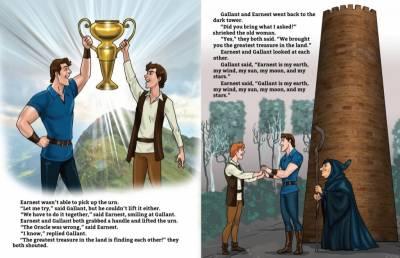 一本英國兒童故事書講的一個故事.. 看完整個人都不好了……