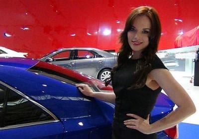 《澳洲車展麻斗秀》南半球的美女們會不會冷呢?