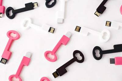 《鑰匙隨身碟》把你的愛都存放在裡面吧~♥