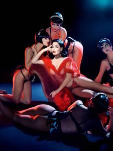 黛塔范緹思 Dita Von Teese 集古典與美麗於一身的脫衣舞孃