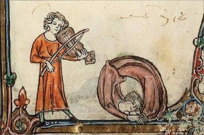 中世紀書本塗鴉 古人的想像力其實超誇張?!