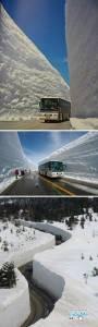 亞洲最令人驚奇的雪景,雪崩會死人阿!