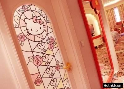 Hello Kitty主題酒店,美到一塌糊塗!