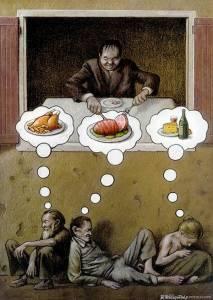 深度文!29張最諷刺插畫,你看懂多少?