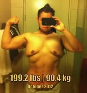 一個胖子去健身房健身遭人嘲笑,然後8個月後…