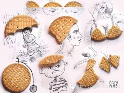 驚呆了!調皮的藝術3D食物畫,簡直太神奇了!
