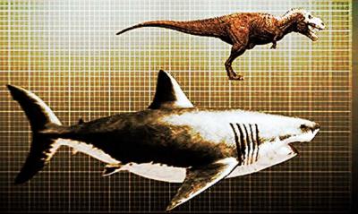 幸好他們都絕種了!!不然人類人口會少一半!!超可怕的巨大怪物們~~>
