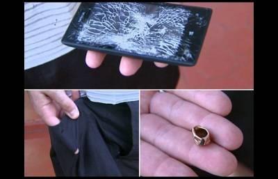 【熱門】永遠的神器:Nokia,擋住子彈救人一命