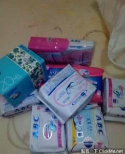 女友大姨媽來要我送衛生棉過去,我買過去她卻要跟我分手....